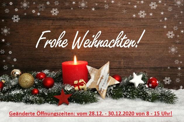 Wir wünschen unseren Kunden und Geschäftspartnern ein schönes und besinnliches Weihnachtsfest und einen guten Rutsch in neue Jahr! Wir haben geöffnet vom 28. – 30.12. 2020 von 8- 15 Uhr! Ab dem 4. Januar 2021 sind wir wieder wie gewohnt für Sie da.  Bleiben Sie gesund! Ihr Team von Kröger Karosseriebau OHG